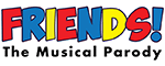 Friends! The Musical Parody - Las Vegas, NV Logo