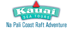 Kauai Sea Tours - Na Pali Coast Beach Landing Day Raft Adventure - Eleele, Kauai, HI Logo
