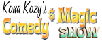 Kozy's Comedy & Magic Show - Kohala Coast, HI Logo