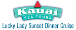Kauai Sea Tours Na Pali Sightsee Sunset Dinner Cruise Aboard the Lucky Lady - Ele' ele, Kauai, HI Logo