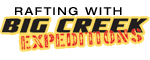 Rafting with Big Creek  Expeditions - Hartford, TN Logo