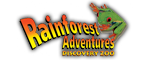 RainForest Adventures - Sevierville, TN Logo