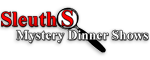 Sleuths Mystery Dinner Shows Logo