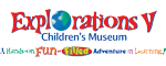 Explorations V Children's Museum - Lakeland, FL Logo