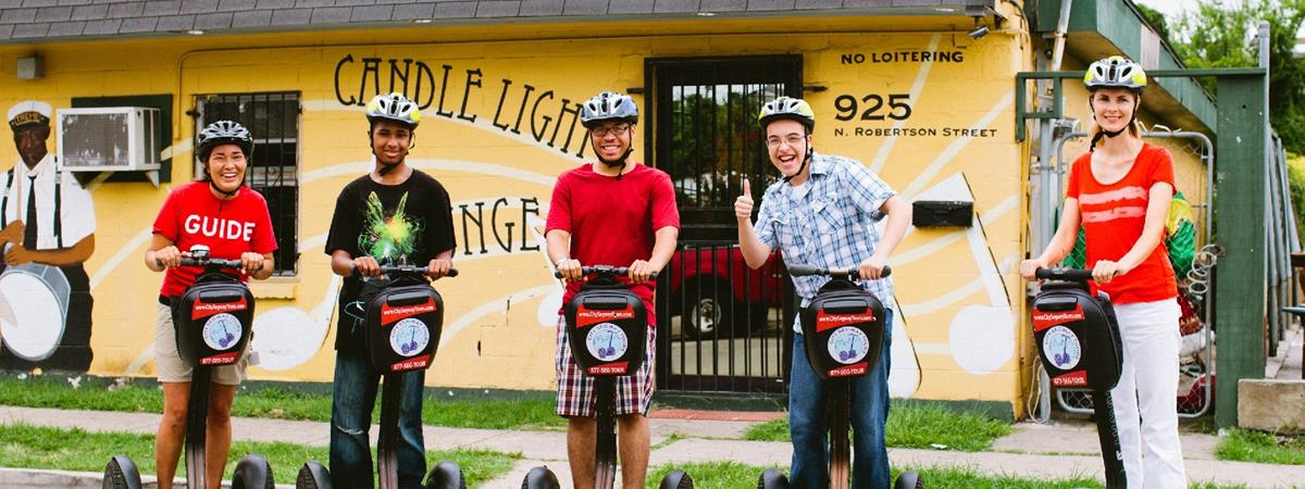 Three Hour New Orleans Segway Tour in New Orleans, Louisiana