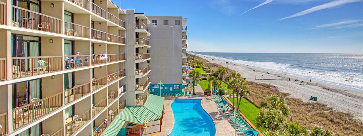 North Shore Oceanfront Hotel in Myrtle Beach, South Carolina