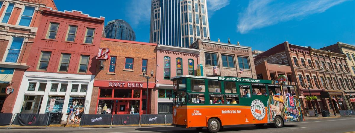 Nashville Trolley Hop On Hop off Sightseeing Tour in Nashville, Tennessee