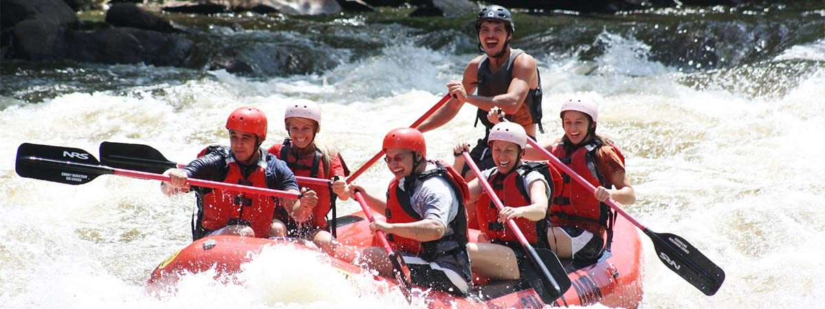 Rafting with Smoky Mountain Outdoors in Hartford, Tennessee