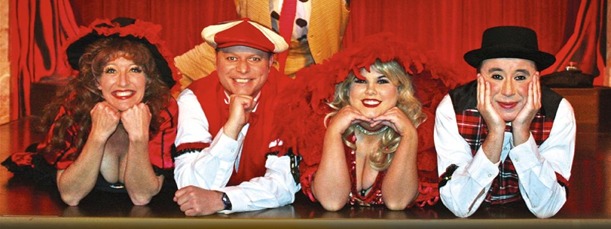 "Sweet Fanny Adams Presents ""Lady Fanny's Nitwit Revue"" in Gatlinburg, Tennessee"