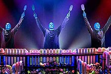 Blue Man Group in Orlando, Florida
