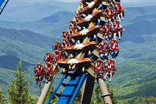 Dollywood in Pigeon Forge, Tennessee