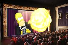 The Simpsons in 4D in Myrtle Beach, South Carolina