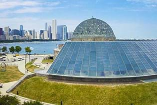 Adler Planetarium in Chicago, Illinois