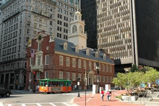 Boston Old Town Trolley Tours  in Boston, Massachusetts