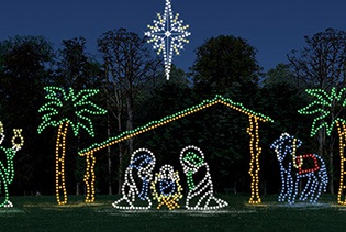 Branson Holiday Lights Tour in Branson, Missouri