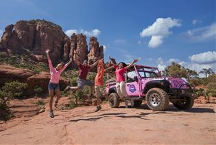 Broken Arrow - Pink Jeep Tour in Sedona, Arizona