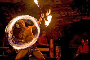 Drums of the Pacific Luau in Lahaina, Maui, Hawaii
