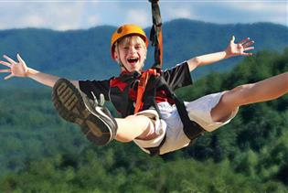 Foxfire Mountain Adventure Park in Sevierville, Tennessee