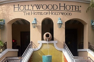 Hollywood Hotel in Los Angeles, California