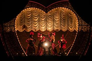 Moulin Rouge! The Musical in New York, New York