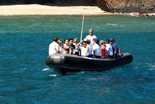 Kauai Sea Tours - Na Pali Coast Beach Landing Day Raft Adventure in Eleele, Kauai, Hawaii