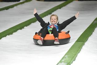 Pigeon Forge Snow - Indoor Snow Tubing in Pigeon Forge, Tennessee