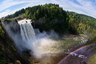 Snoqualmie Falls and City Tour in Seattle, Washington