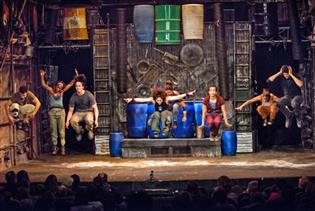 Stomp in New York, New York