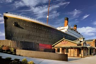 Titanic Museum Attraction in Pigeon Forge, Tennessee