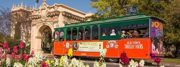 Old Town Trolley Hop-on Hop-off Sightseeing Tours of San Diego
