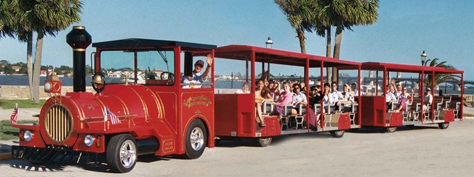 Ripley's Red Sightseeing Trains