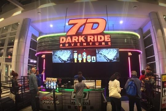 7D Dark Ride Adventure in Pigeon Forge, TN