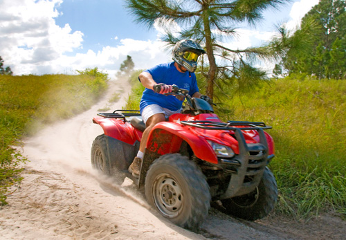 ATV Experience at Revolution OFF Road