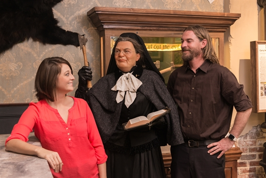 Carrie Nation- American Prohibition Museum