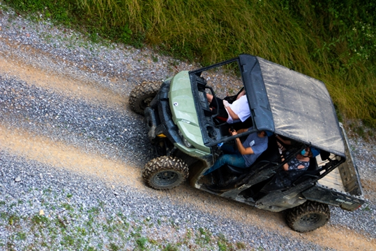Our 4-wheeled guided ATV tours are available all season