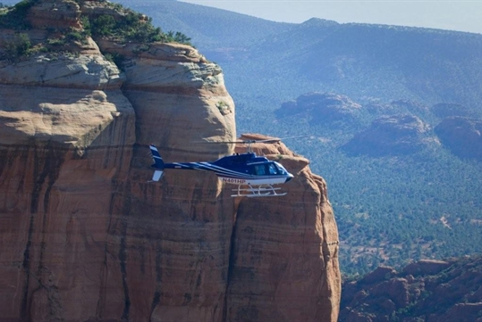 Bear Wallow Run Helicopter Tour of Sedona, AZ