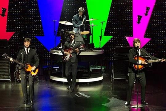 Beatleshow in Las Vegas, NV