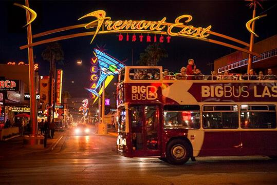Big Bus Tours in Las Vegas, NV