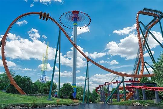 Canada's Wonderland new tallest roller coaster in North America, Yukon Striker - Canada's Wonderland in Vaughn, ON
