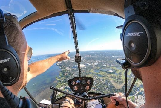 Clearwater Helicopter Adventure with Tampa Bay Aviation in Clearwater, FL