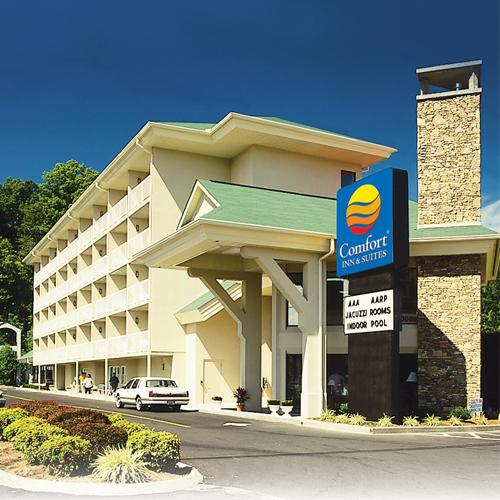 Comfort Inn and Suites at Dollywood Lane in Pigeon Forge, Tennessee