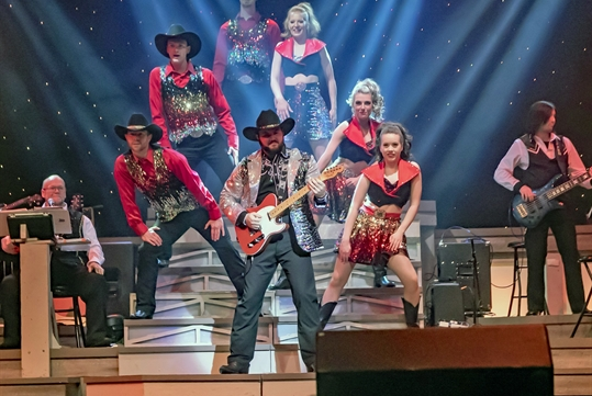 Featured Performer with Dancers - Country Tonite Show in Pigeon Forge, Tennessee