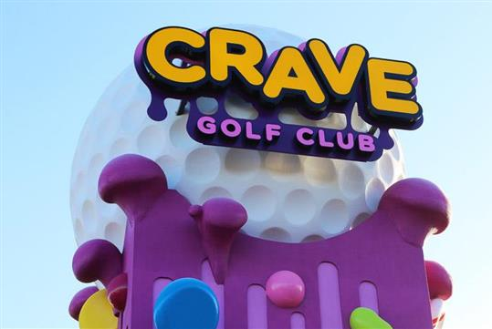 Crave Golf Club in Pigeon Forge, TN