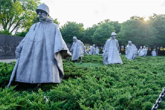 Korean War Memorial - DC Deluxe Tour