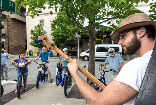 Downtown Asheville Electric Bike Tour