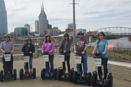 Downtown Nashville Segway Tour Experience with iRide Nashville in Nashville, TN