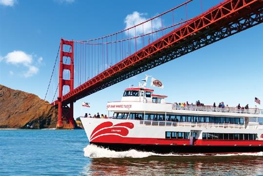 Golden Gate Bay Cruise: Sail around Alcatraz.