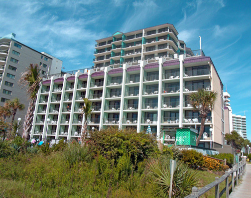 Grande Shores Ocean Resort Condominiums in Myrtle Beach, SC