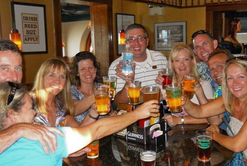 St. Augustine's original, world-famous PUB CRAWL & BEER TASTING TOURS!