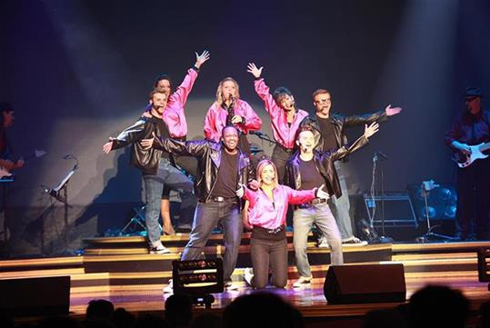 Celebrate the evolution of music with Hit Parade at the Grand Majestic Theater in Pigeon Forge, Tennessee!